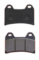 Lyndall Brakes Z-Plus Front Brake Pads for Victory Models