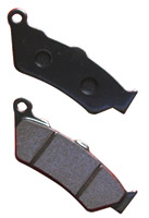 Lyndall Brakes Z-Plus Rear Brake Pads for Victory Models