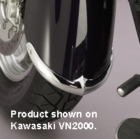 National Cycle Front Fender Tip Trailing Edge for VN1600 Nomad