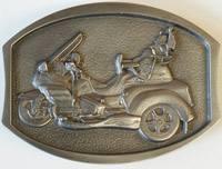 Add On GL1800 Trike Belt Buckle