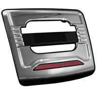 Kuryakyn License Plate Trim Panel with Run-Brake Accent Light GL1800