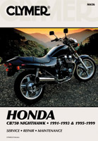 Clymer Honda Nighthawk Motorcycle Repair Manual