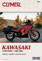 Clymer Kawasaki Fours Motorcycle Repair Manual