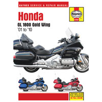 Haynes Honda Gold Wing GL1800 Repair Manuals