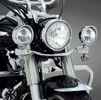 Big Bike Parts Elliptical LED Light Bar