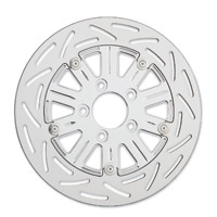 Arlen Ness Chrome 10 Gauge Floating Rotor for Victory