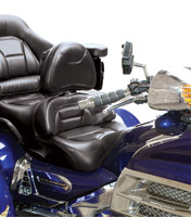 Add On Insert Mount Driver Backrest for GL1800 Gold Wing