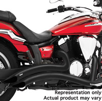 Freedom Performance Exhaust Radius Exhaust System for VN2000