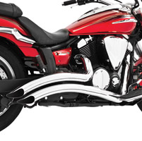 Freedom Performance Exhaust Radius Exhaust System for 950 V-Star