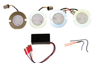 Custom Dynamics Complete Yamaha Cruiser Amber/Red LED Turn Signal Conversion Kit