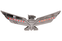 Add On Chrome LED Lighted Eagle Emblem