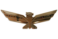 Add On Gold LED Lighted Eagle Emblem