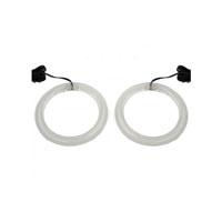 Add On Angel Eyes Blue Led Speaker Lights for Honda GL1800
