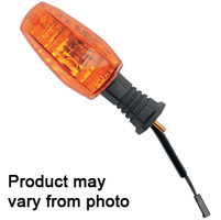 K&S Amber Turn Signal Replacement Lens for Honda