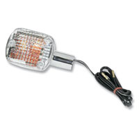 K&S Clear Rear Turn Signal for Honda