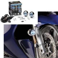 PIAA Lamp Kits with Multi-Fit Motorcycle Bracket
