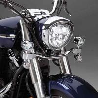 Show Chrome Accessories Mini Halogen Elliptical Driv