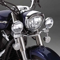 Show Chrome Accessories Elliptical Driving Kit for XV650