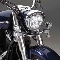 Show Chrome Accessories Mini Halogen Elliptical Driving Kit for 1300 V-Star