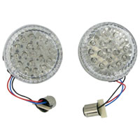 Show Chrome Accessories LED Amber Turn Signal Conversion Kit