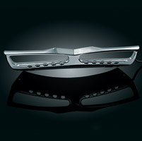 Kuryakyn LED Lighted Chrome Grill