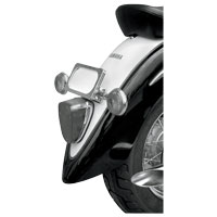 Baron Custom Accessories Laydown Turn Signal and License Plate Kit