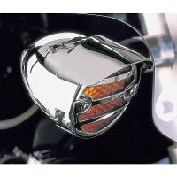 Show Chrome Accessories Screw Mount Turn Signal Visors