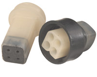 K&L Supply Co. Waterproof Electrical Terminal 4-pin Coupler Set