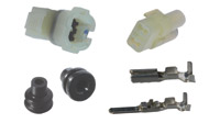 K&L Supply Co. Terminal and Coupler Set 2 Pin Waterproof Coupler