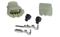 K&L Supply Co. Terminal and Coupler Set 3 Pin Waterproof Coupler