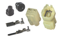K&L Supply Co. Terminal and Coupler Set 4 Pin Waterproof Coupler