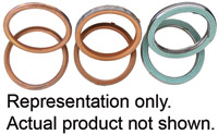 K&L Supply Co. Exhaust Pipe Gasket Kit