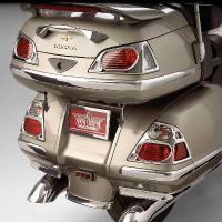 Show Chrome Accessories Trunk Lens Grill