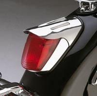 Show Chrome Accessories Taillight Teardrop Visor
