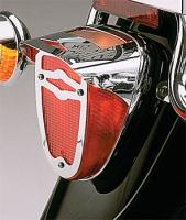 Show Chrome Accessories Celestar Taillight Visor