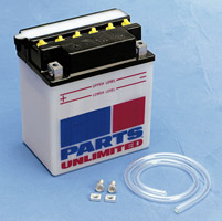 Parts Unlimited Heavy-Duty 12V Battery Model RCB14L-A2