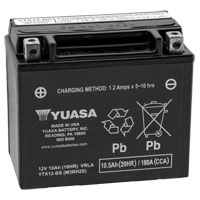 Yuasa Maintenance Free Battery Model YTX12-BS