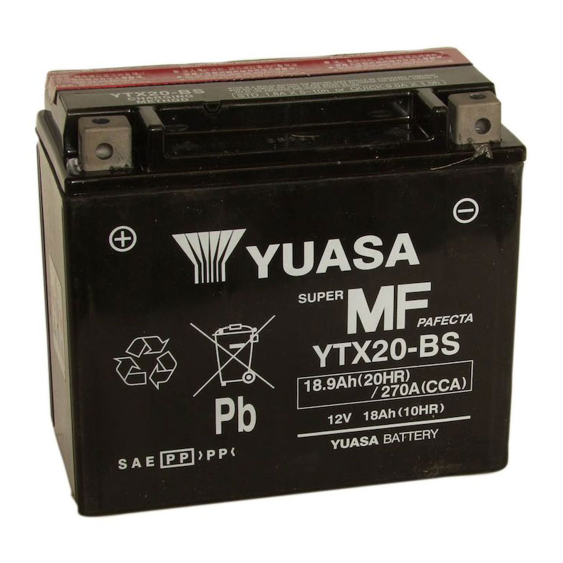 Maintenance Free Battery Model YTX20-BS