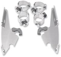 Memphis Shades Bullet Fairing Polished Trigger Lock Mount Kit