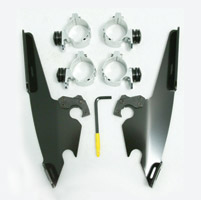 Memphis Shades Black Sportshield Mounting Kit