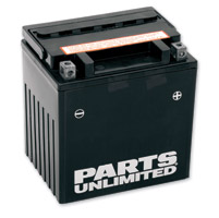 Parts Unlimited High Performance AGM Factory Activated Battery
