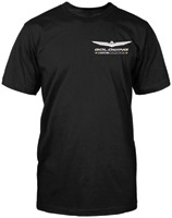 Honda Men's Gold Wing Custom Collection Black T-Shirt