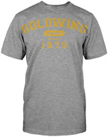 Honda Men's Gold Wing Athletic Heather Gray T-shirt