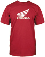 Honda Men's Big Wing Red T-shirt