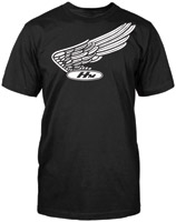 Honda Men's Nostalgic Black T-shirt