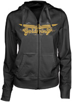 Honda Women's Gold Wing Charcoal Posh Zip Hoodie