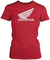Honda Women's Big Wing Red T-shirt