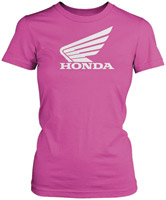 Honda Women's Big Wing Pink T-shirt
