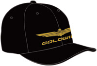 Honda Gold Wing TPR Black Ball Cap