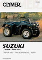 Clymer Suzuki LT-F500F Manual 1998-2002